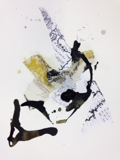 Newfoundland residency drawings, maps, ink, ecology #2